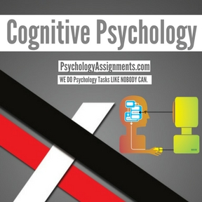 Cognitive Psychology Assignment Help