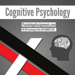 Cognitive Psychology Homework Help
