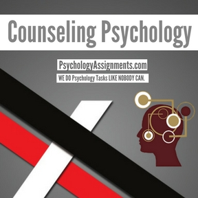 Counseling Psychology Assignment Help