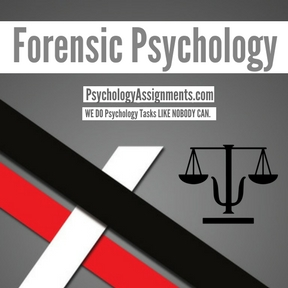 Forensic Psychology Assignment Help