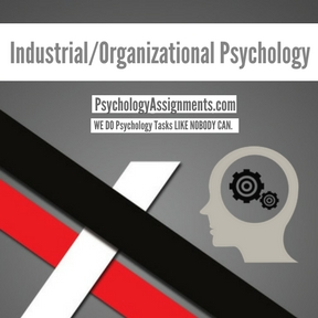 Industrial/Organizational Psychology Assignment Help