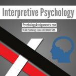 Interpretive Psychology