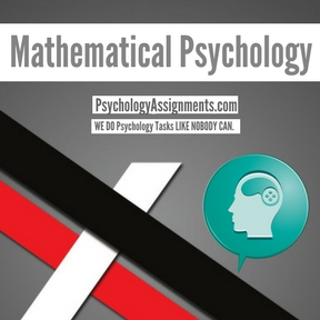 Mathematical Psychology Assignment Help