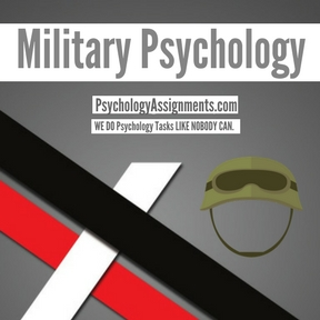 Military Psychology Assignment Help