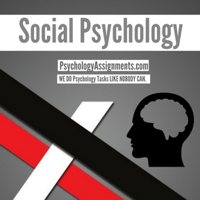 Social Psychology writing Help